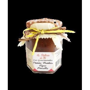 Confiture Pomme flambée figue noisette (290g)