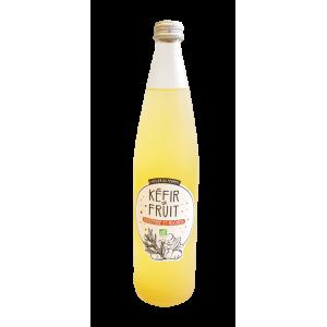 Kéfir gingembre et rooibos (75 cl)
