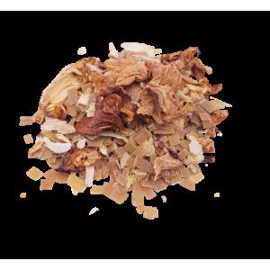 Poêlée de crozets sarrasin, chanterelles et persillade (250g)