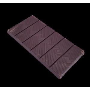 Tablette de chocolat noir citron gingembre (70g)