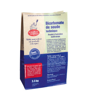 Bicarbonate de soude technique (2,5 kg)