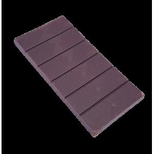 Tablette de chocolat noir 72%, noisettes et café (70g)