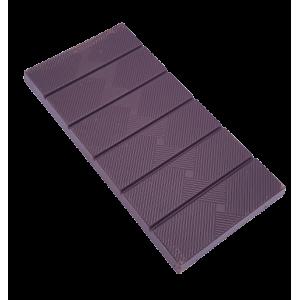 Tablette de chocolat noir 72%, oranges confites (70g)