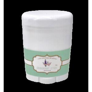 Mini déodorant stick douceur sans bicarbonate ni HE (25g)