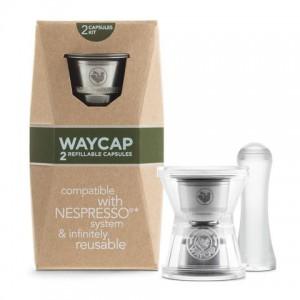 Kit 2 capsules inox rechargeables Nespresso
