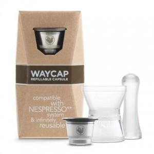 Kit 1 capsule inox rechargeable Nespresso