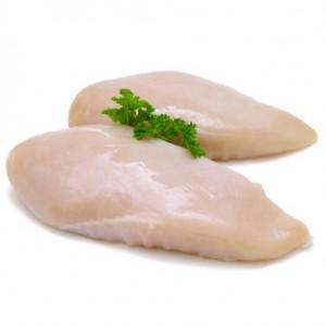 Filets de poulet blanc plein air x3 (640g min)