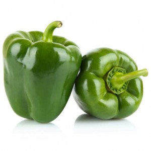 Poivrons verts (500g)