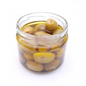 Olives vertes farcies aux amandes (250g)