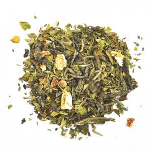 Thé vert évasion - menthe, mangue, citron (100g)