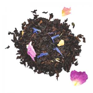 Thé noir perle d'amour - rose et fruits rouges (100g)