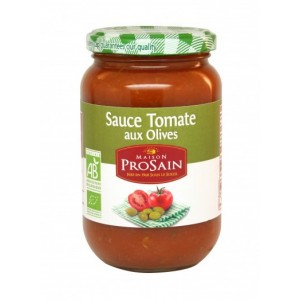 Sauce tomate aux olives (370g)