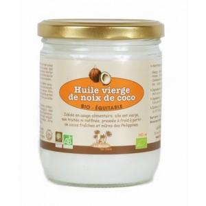 Huile vierge de noix de coco (38 cl)