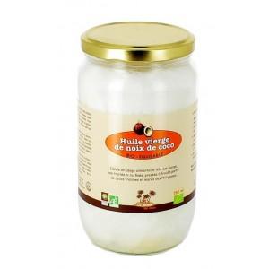 Huile vierge de noix de coco (78 cl)
