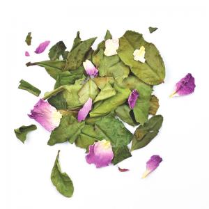 Thé blanc Reine de Damas à la rose (50g)