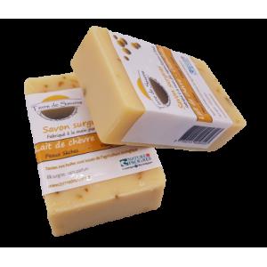 Savon lait de chèvre et calendula sans HE (100g)