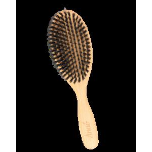 Brosse plate à poils de sanglier