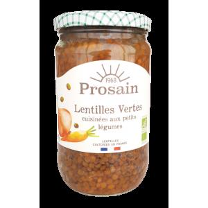 Lentilles cuisinées aux petits légumes (660g)