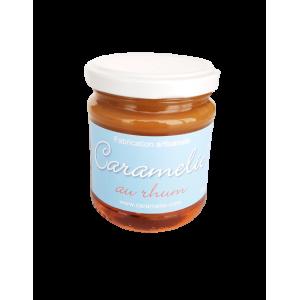 Caramel au beurre salé rhum (200g)