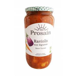 Raviolis légumes sauce Toscane (1kg)