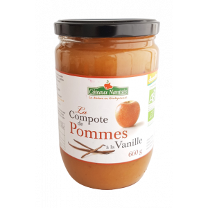 Compote pommes-vanille (660g)