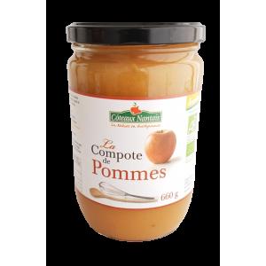 Compote de pommes (660g)