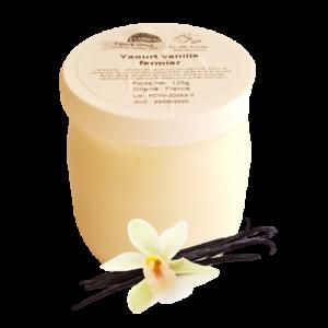 Yaourt vanille (125g)