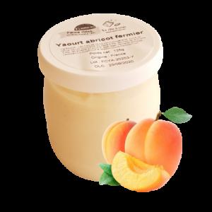 Yaourt brassé abricot (125g)