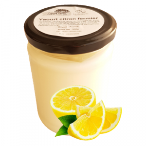 Yaourt citron (500g)