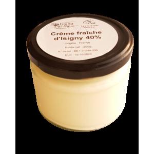 Crème fraîche Isigny AOP 40% (250g)