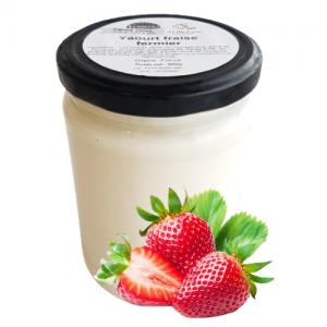 Yaourt fraise (500g)