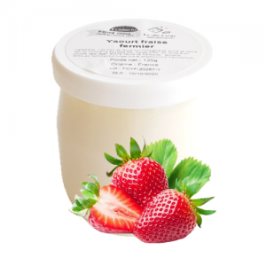 Yaourt fraise (125g)